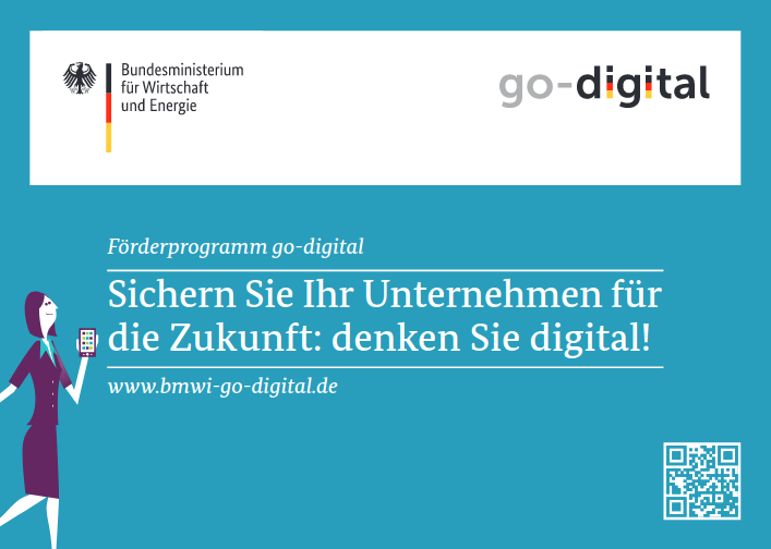 Flyer des BMWi zu go-digital