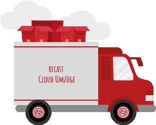 recast Cloud Umzüge Grafik